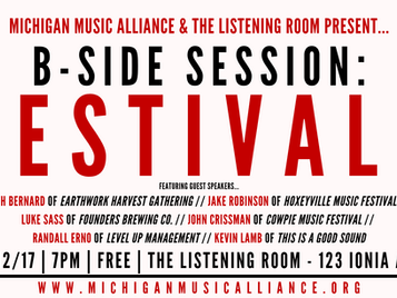 B-SIDE SESSION: Festivals
