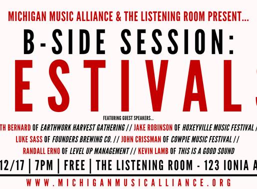 B-SIDE SESSION: Festivals