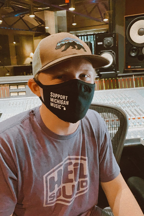 Support Michigan Music - Mask