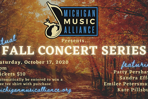 Fall Concert Series Ticket - October