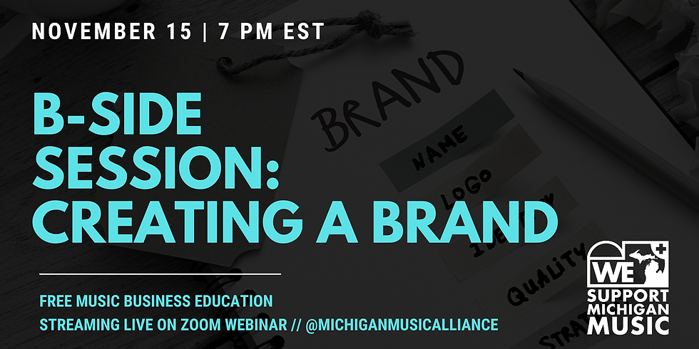 B-SIDE SESSION: Creating a Brand