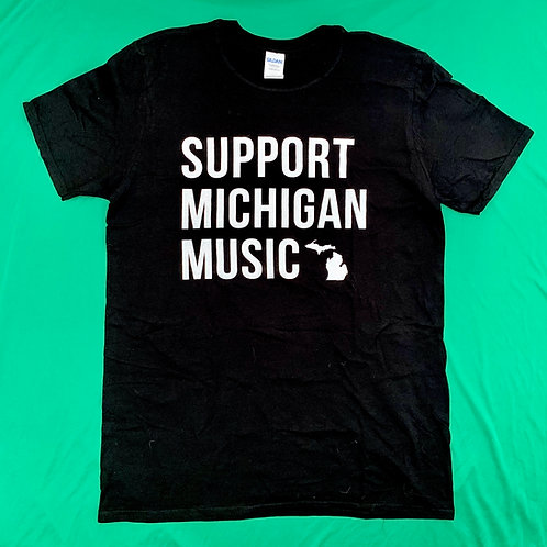 Support Michigan Music - Unisex Tee