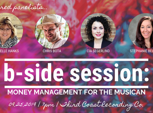 B-SIDE SESSION: Money Management for the Musician