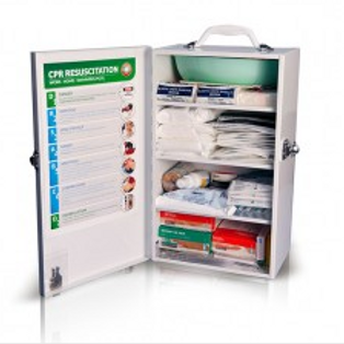 K700 Workplace Compliant First Aid Kit - Metal, Wall-Mount