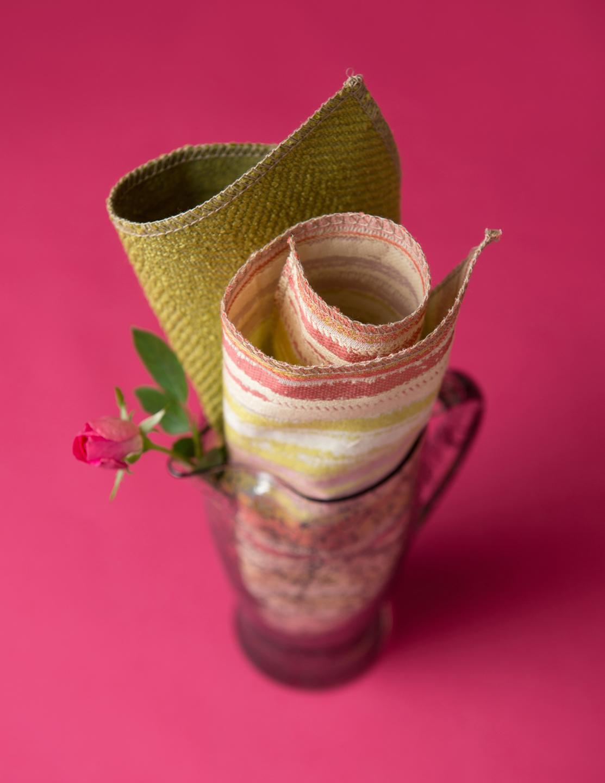 Fabric in Vase