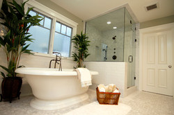 modern white bathroom
