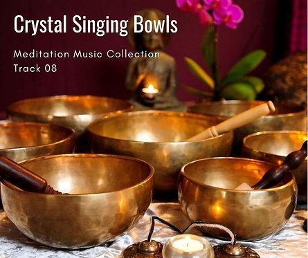 Meditation Music No.8 Crystal Singing Bowls