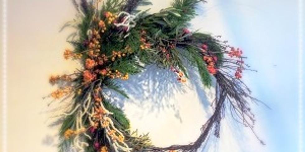 Dried Fall Wreath Workshop