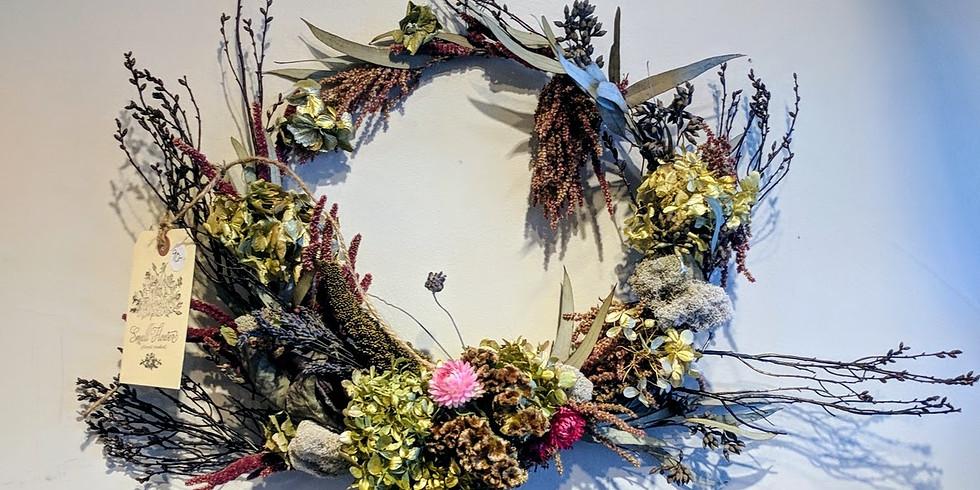 Everlasting Dried Wreath Workshop