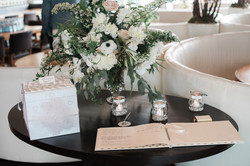 Wedding reception flower