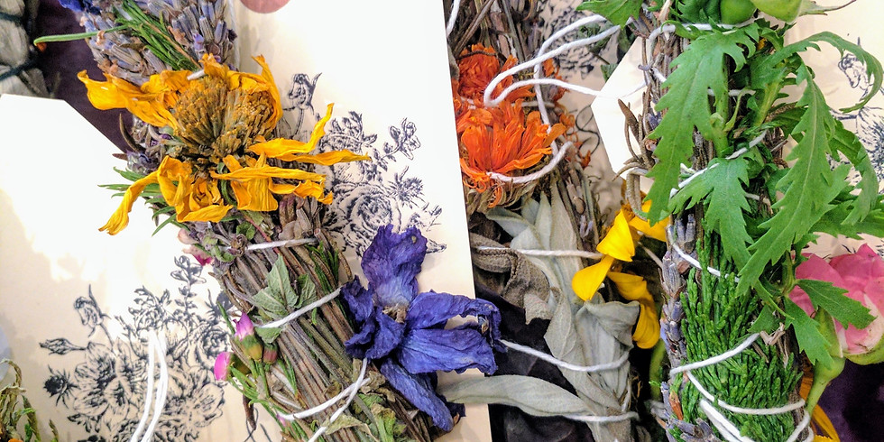 Earth Day- Floral Wand Workshop