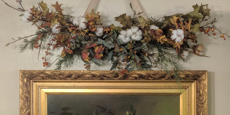 Fall Floral Swag Workshop (1)