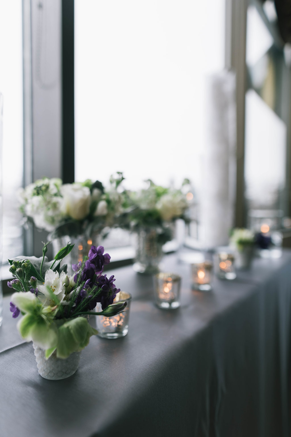 pretty reception flowers