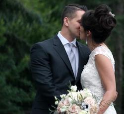 soft and romantic bridal bouquet
