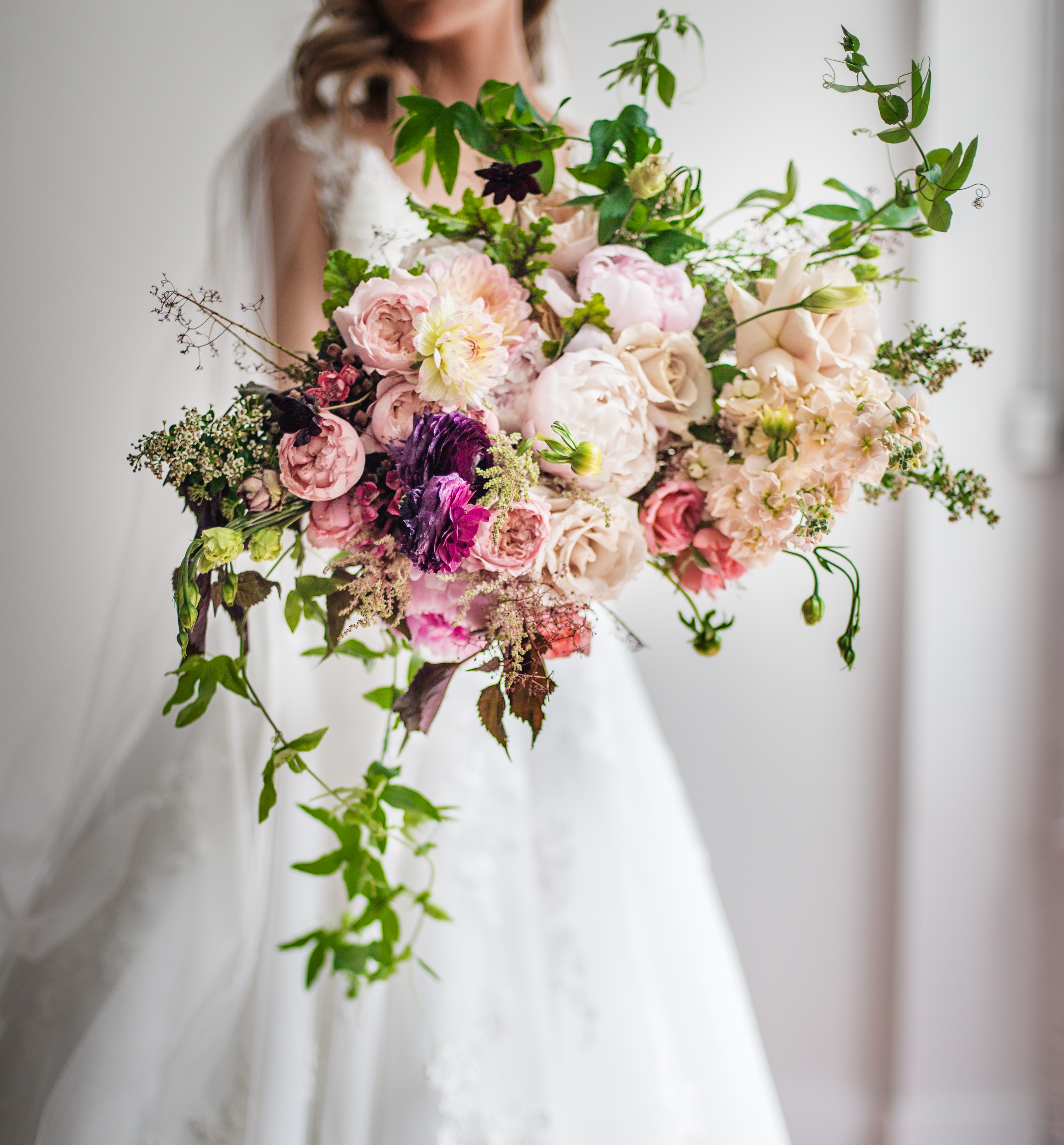 Wild and Whimsical Wedding Bouquet,