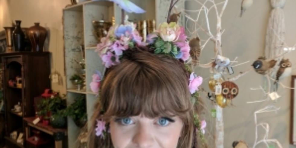 Floral Antler Workshop