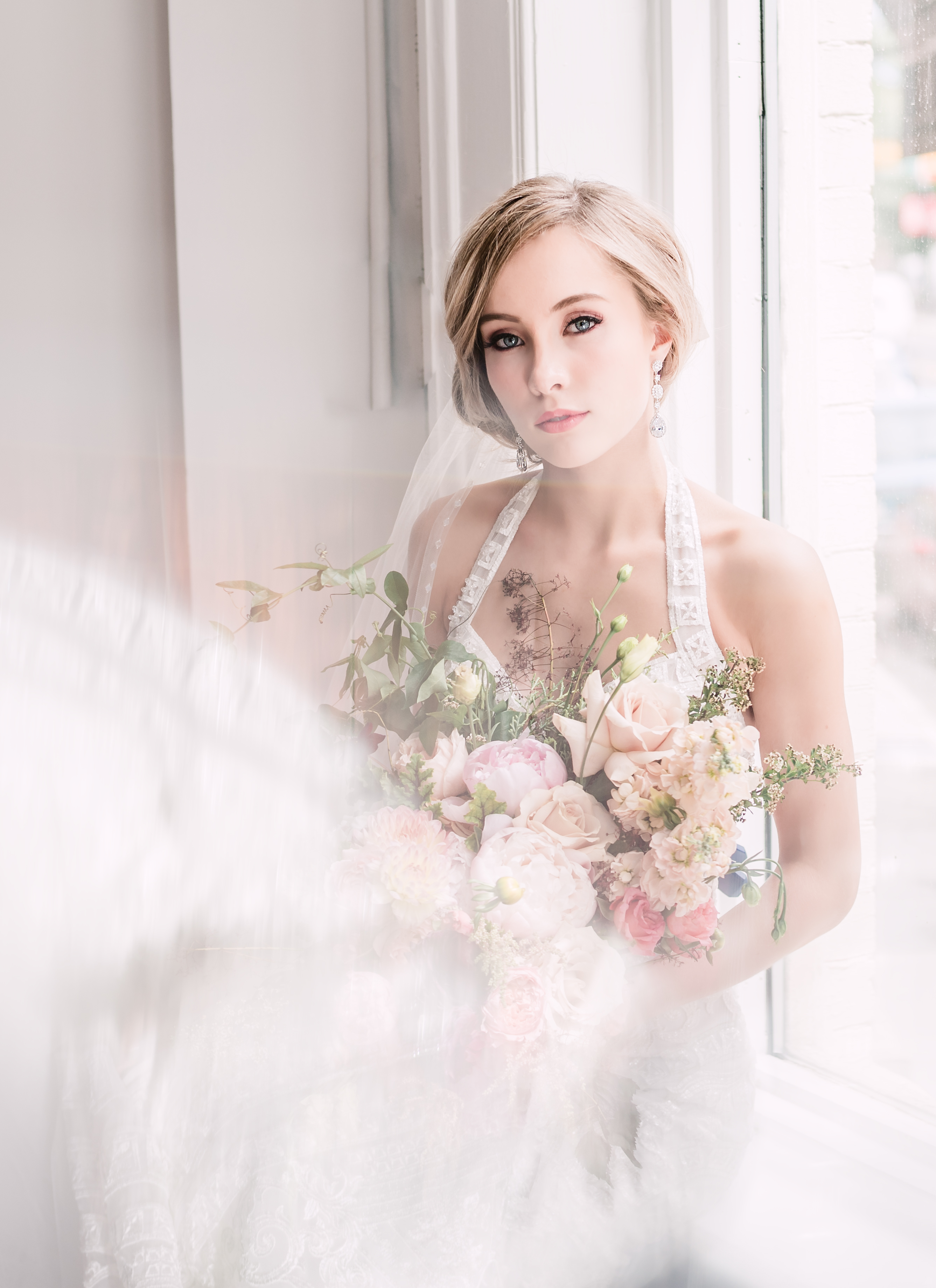Soft and Romantic Wedding Flowers