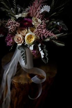 romantic bridal flowers