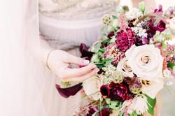 Moody Garden Wedding Bouquet