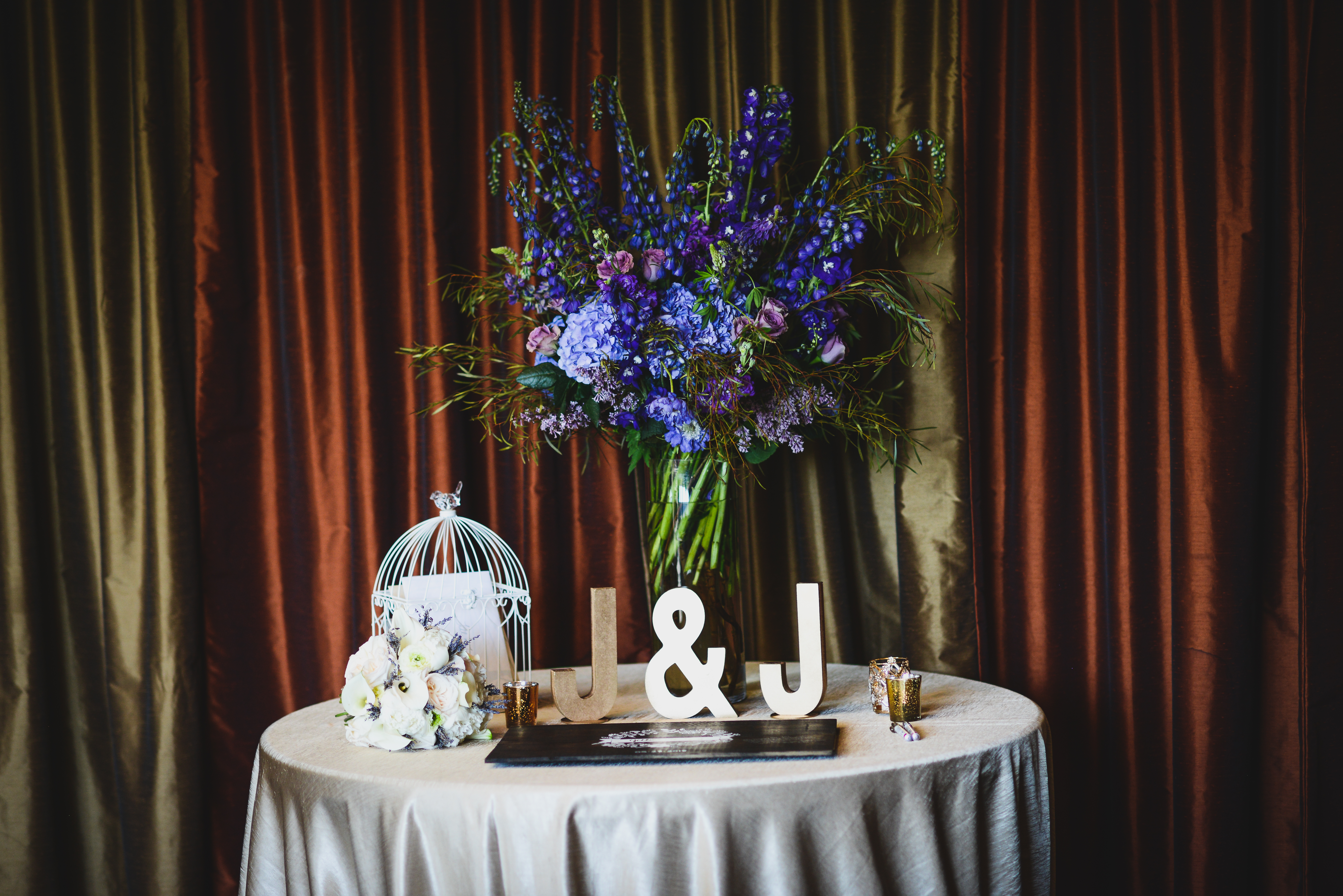 Deep, dark and Moody Wedding
