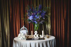 Deep, dark and Moody Wedding