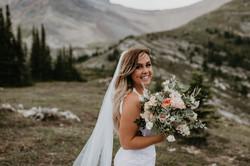 Pretty Mountain Top Wedding