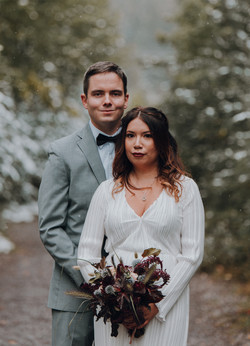 Phil & Steph's Mountain Wedding