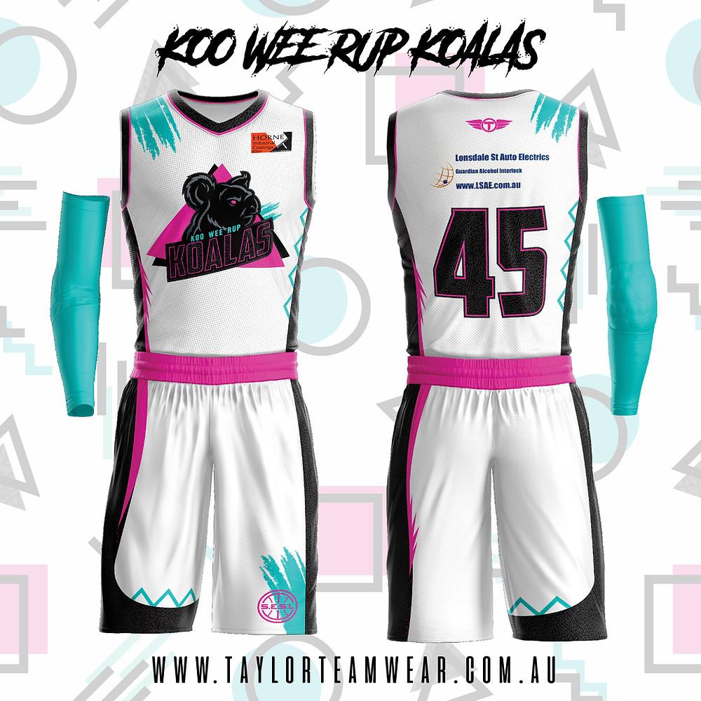 Koo Wee Rup Koalas Uniform 2019