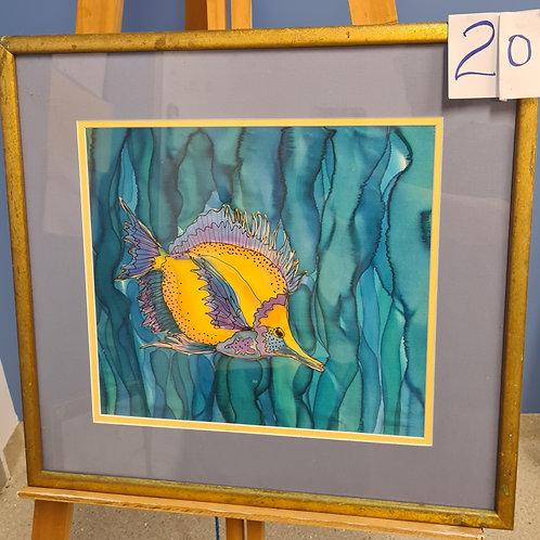 #20 Yellow Fish