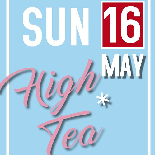 High Tea - one adult ticket