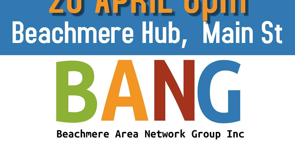 BANG April General Meeting