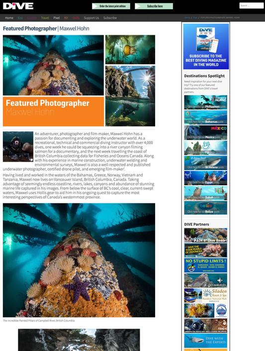 Dive magazine UK