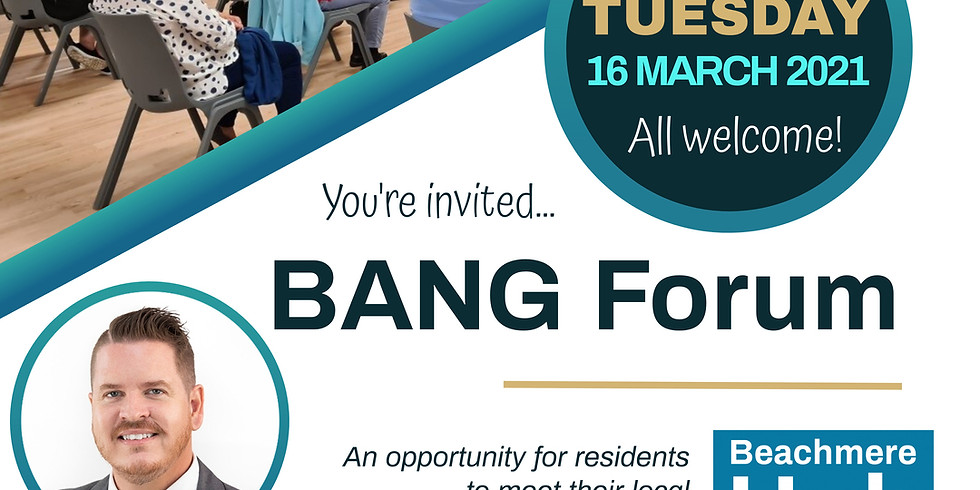 BANG March Forum