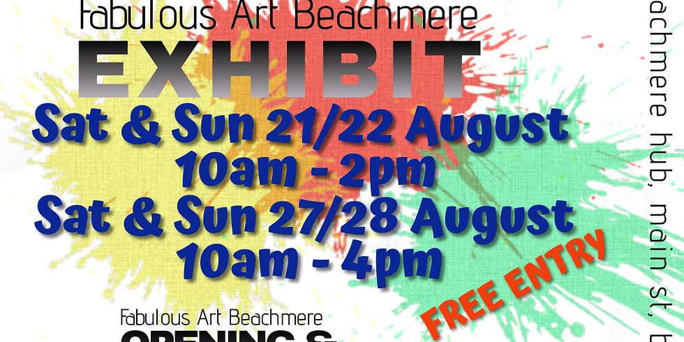FAB - Fabulous Art Beachmere Exhibition