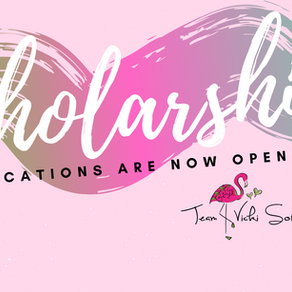 2019 scholarship applications are now open!