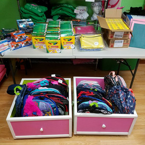 Back 2 School, SHCC Donation!