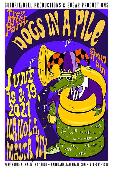Nanola Event Poster