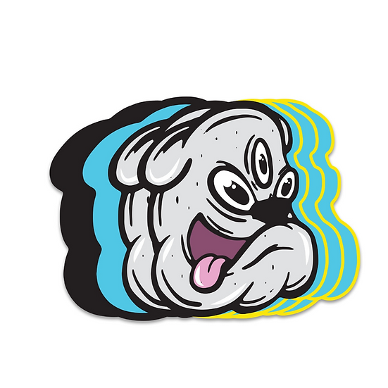 Crazy Dog Pin