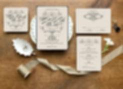 bohemian wedding invitation, boho wedding invitation, boho save the date, victorian wedding invitation