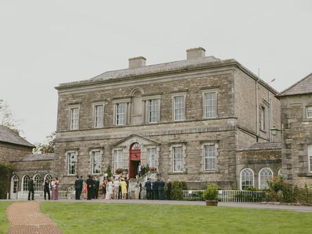 Irish Mansion + Art Nouveau Wedding