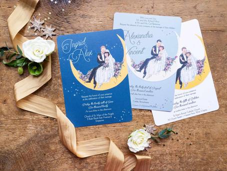 Vintage Celestial Weddings