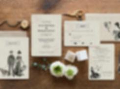 gothic wedding invitation, steampunk wedding invitations, victorian wedding, turn of the century wedding, whiskey wedding invitations, unique wedding invitation