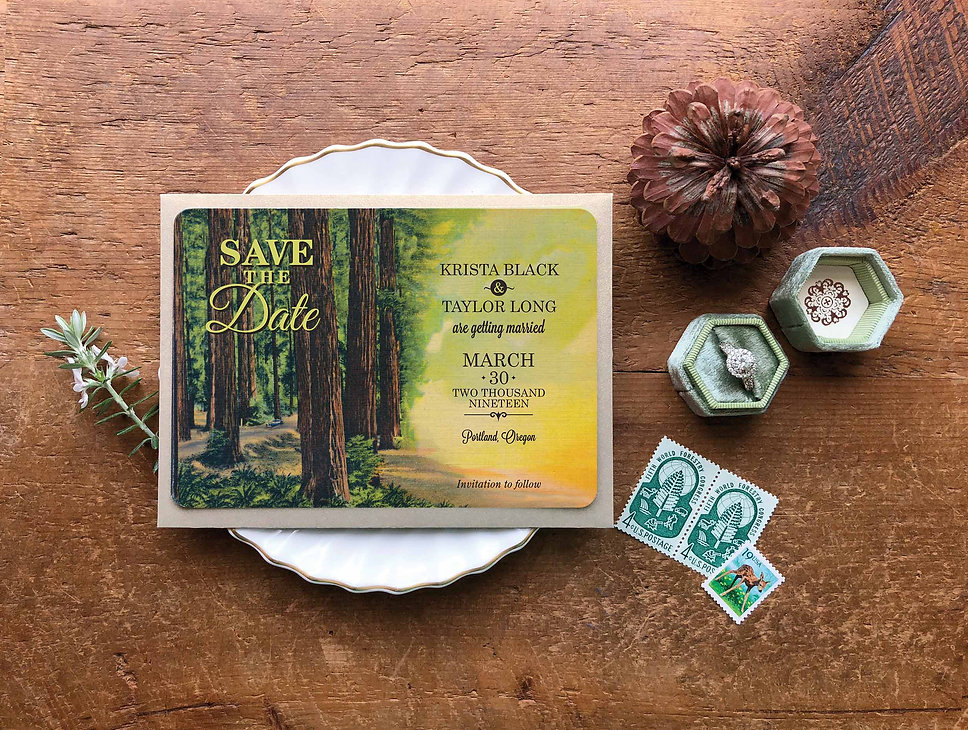 destination wedding invitations, save the date postcards