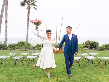 Mid Century Tropical Wedding