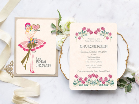 Bridal Shower Paper Goods