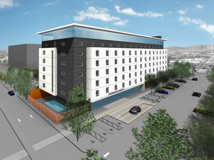Eight-Story Hotels Slated for Hollywood Way