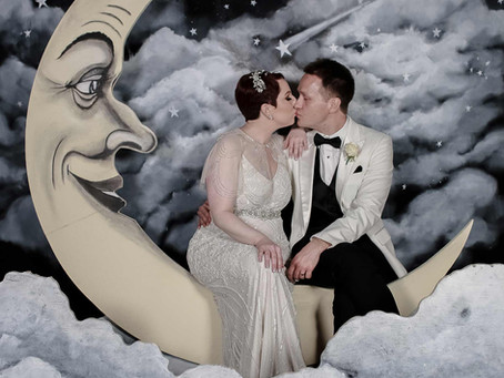 Paper Moons - Perfect for that stellar, vintage wedding!