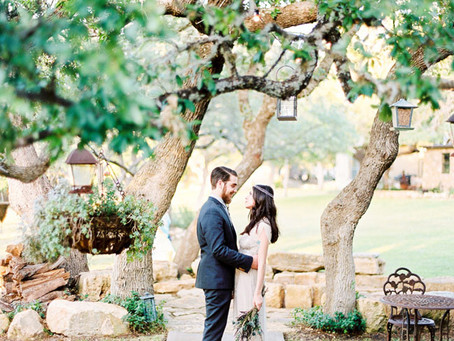 Ooh La La - Vintage Boho Wedding in Texas