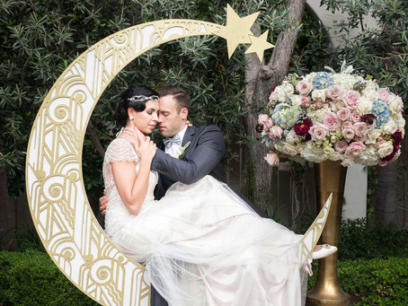 Perfectly Pastel Art Deco Wedding