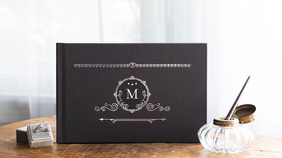 Photo Album - Guest Book - Monogram